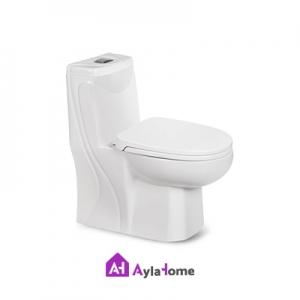 توالت فرنگی مروارید مدل دیاموند 66 درجه دو