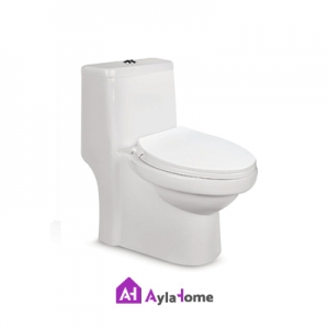 توالت فرنگی مروارید مدل تانیا 66 درجه دو
