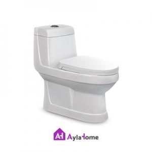 توالت فرنگی مروارید مدل والنتینا 65 درجه دو
