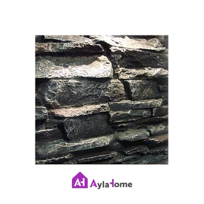 پانل دیوارپوش کامپوزیت فایبرگلاس طرح صخره درشت (بدون رنگ)