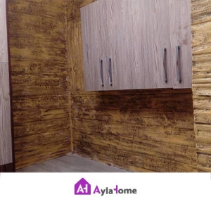 پانل دیوارپوش کامپوزیت فایبرگلاس طرح چوب (بدون رنگ)