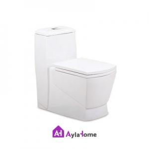 توالت فرنگی مروارید مدل مگا 69 درجه دو