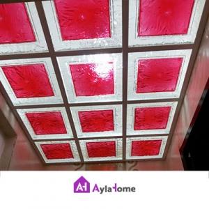 پانل پلکسی سقفی دو رنگ